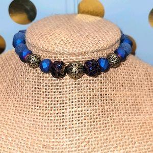 True Blue Aromatherapy Bracelet
